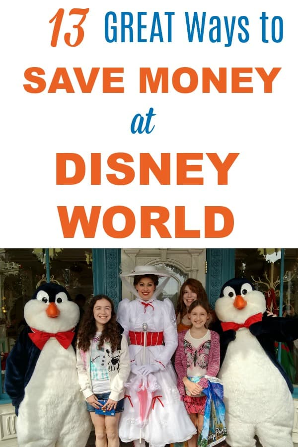 Disney World budget for Mom -- tips for saving money on food,  products, and things to get on your family vacation to Disney parks
