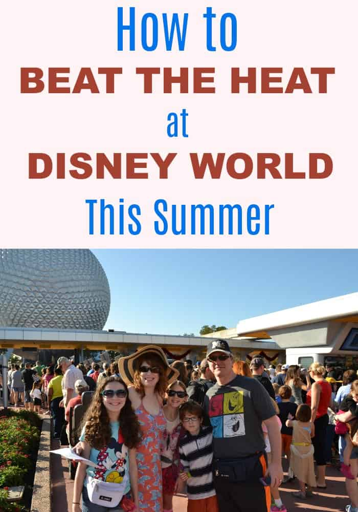 7 Ways to Stay Cool at Disney World
