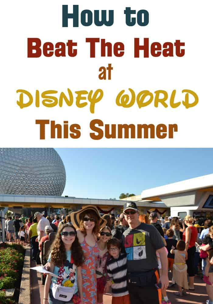 Tips to stay cool at Walt Disney World