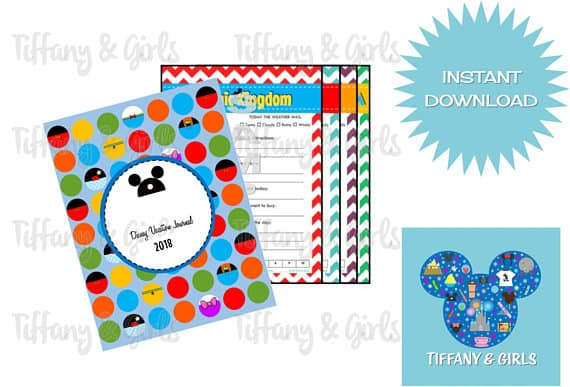 Printable Disney Vacation Journal PDF