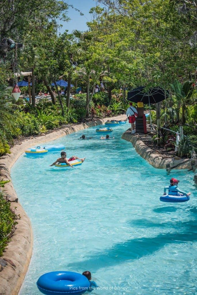 Typhoon Lagoon water park at Disney World