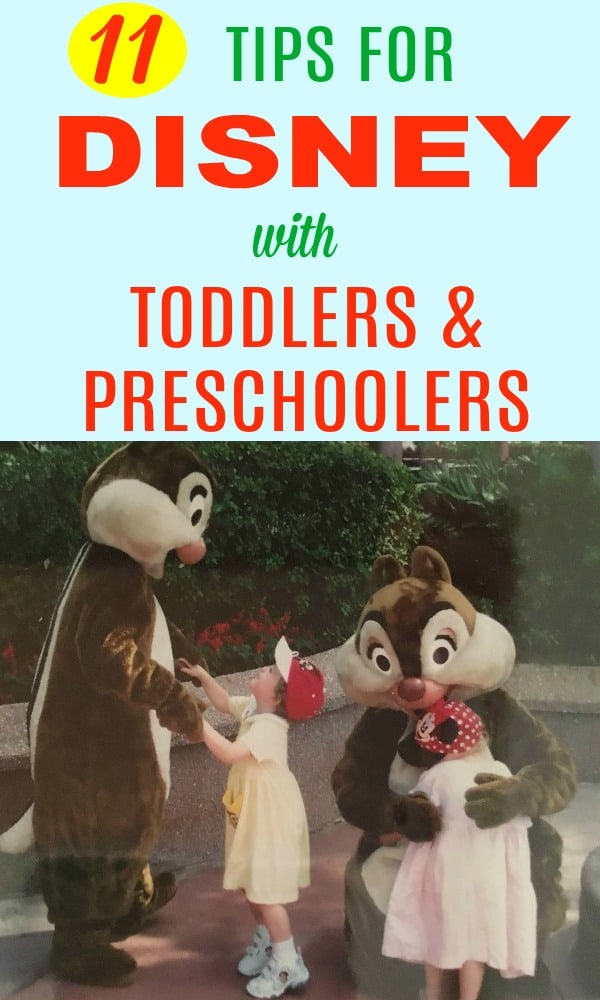 Best Tips and tricks for Disney World vacations with toddlers and preschoolers