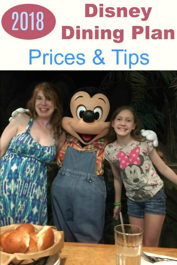 Disney Dining Plan Prices and Tips