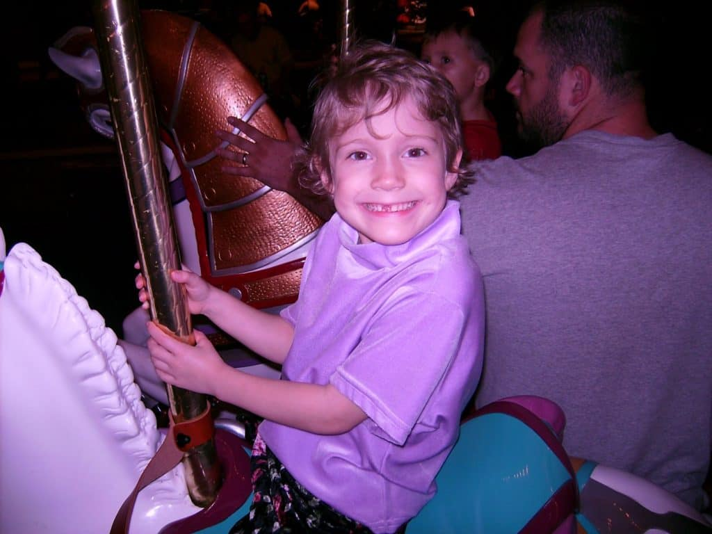 Prince Charming Regal Carrousel in the Magic Kingdom at Disney World