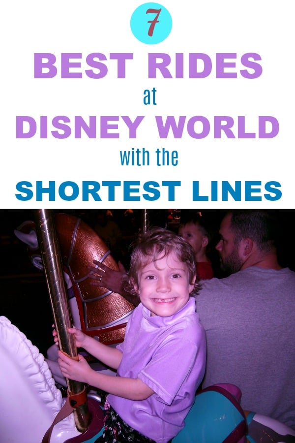 Best Disney World Rides with the Shortest Lines