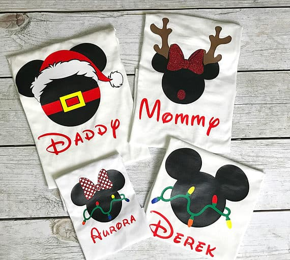 fca0777f1e 13 Cute and Funny Matching Disney Family Shirts (May 2019)