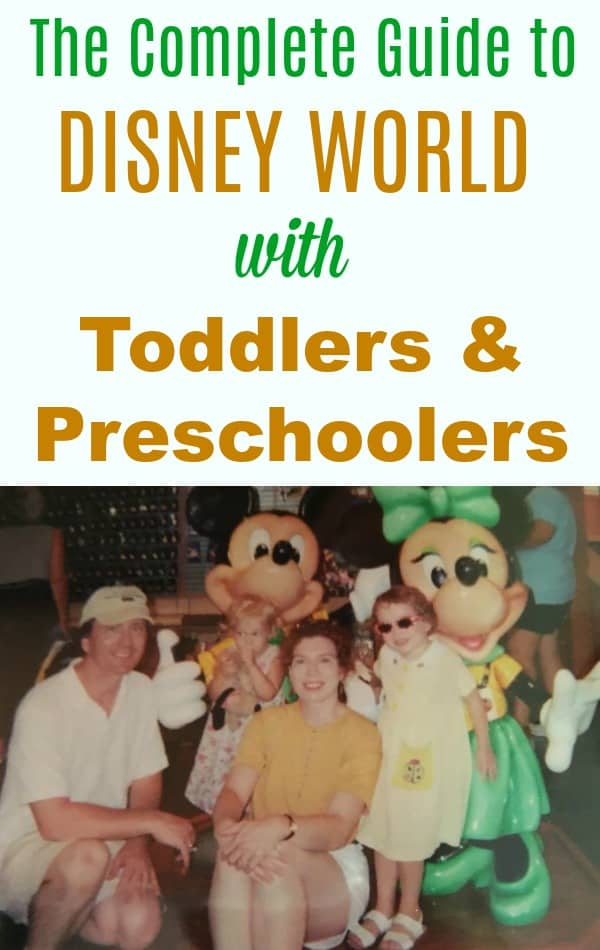 The best tips for Disney World with toddlers and preschoolers on your Disney World family vacation -- stroller tips and products, keeping kids safe, and how to use rider switch.