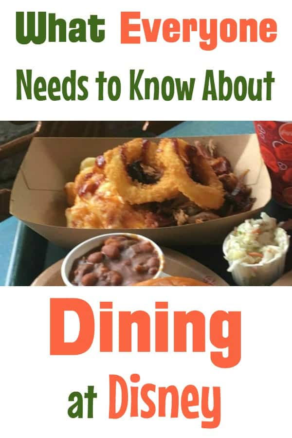 Disney Dining tips and secrets