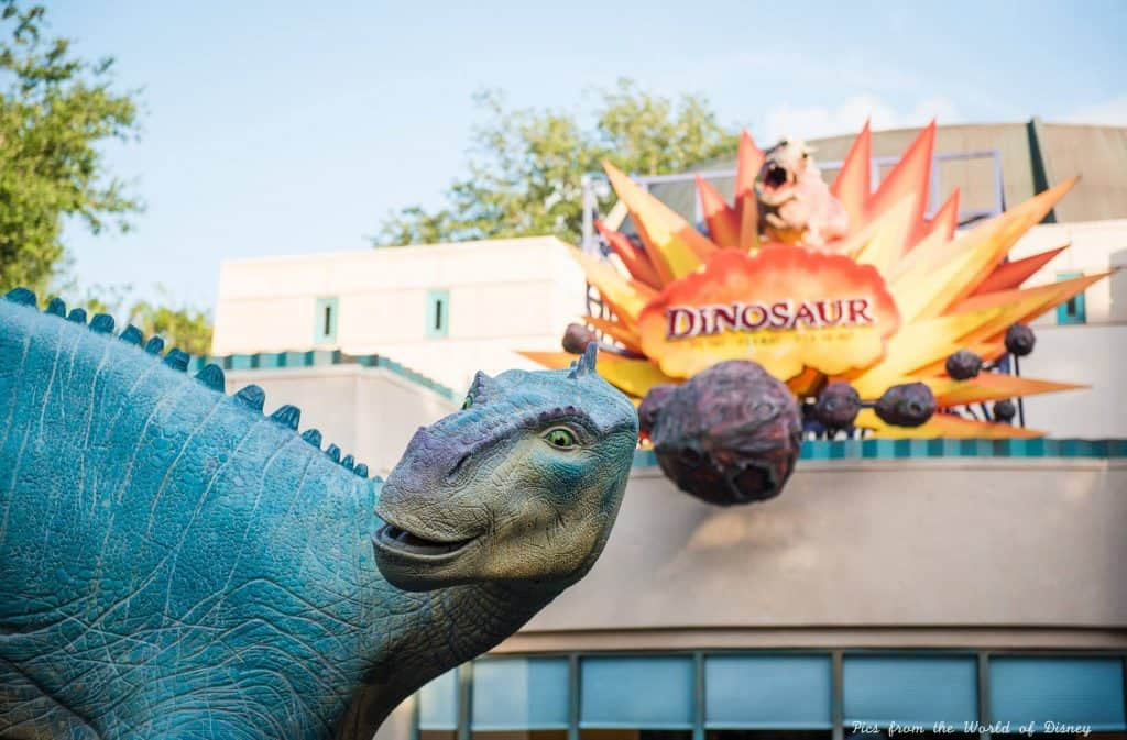Dinosaur in Animal Kingdom, underrated ride at Disney World
