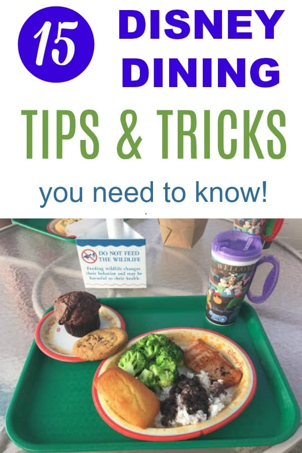 15 Disney Dining Tips & Tricks You Need to Know