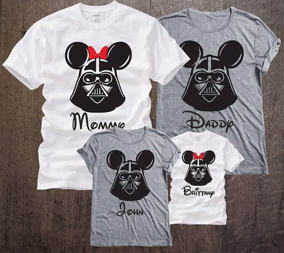 Disney Star Wars Family Shirts