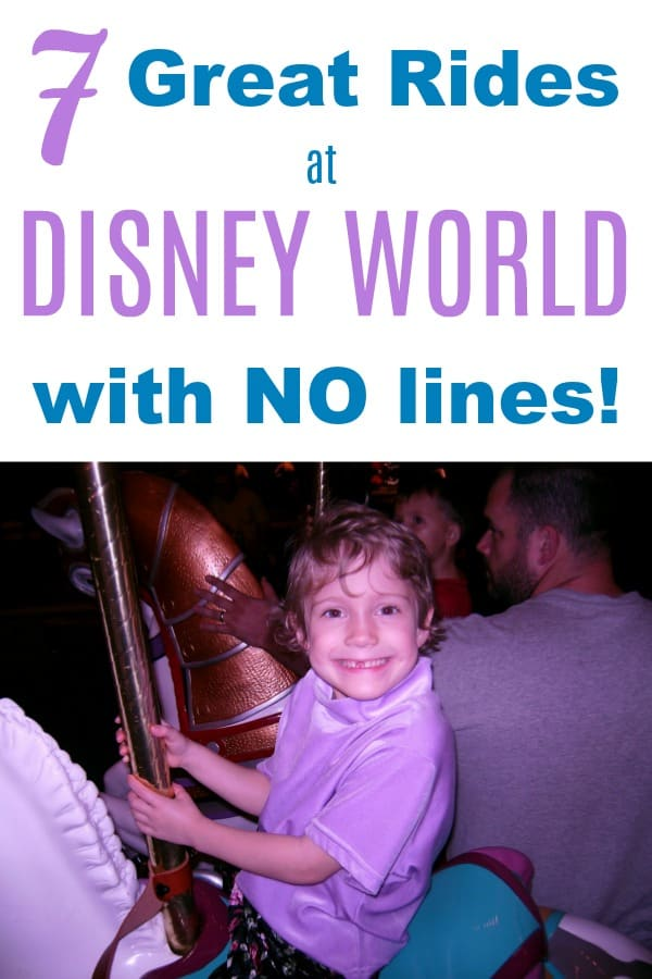 7 Great Disney World Rides With the Shortest Lines