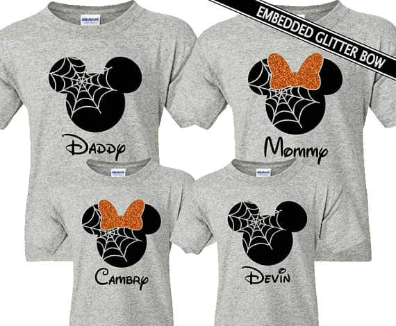 Matching Halloween Disney Shirts for families