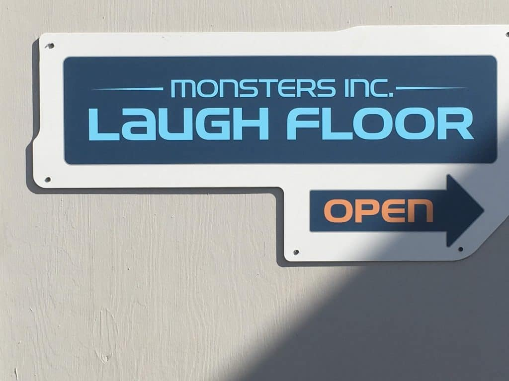 Monsters Inc Laugh Floor in Disney World