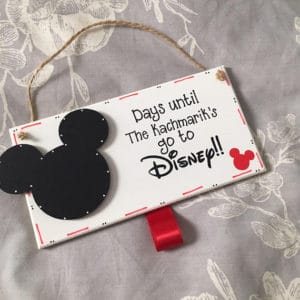Personalized Mouse Ears Sign from Etsy