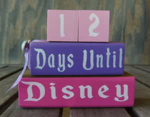 Pink and Purple Countdown Blocks