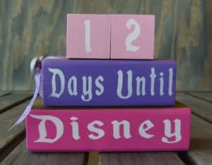 Pink and Purple Countdown Blocks