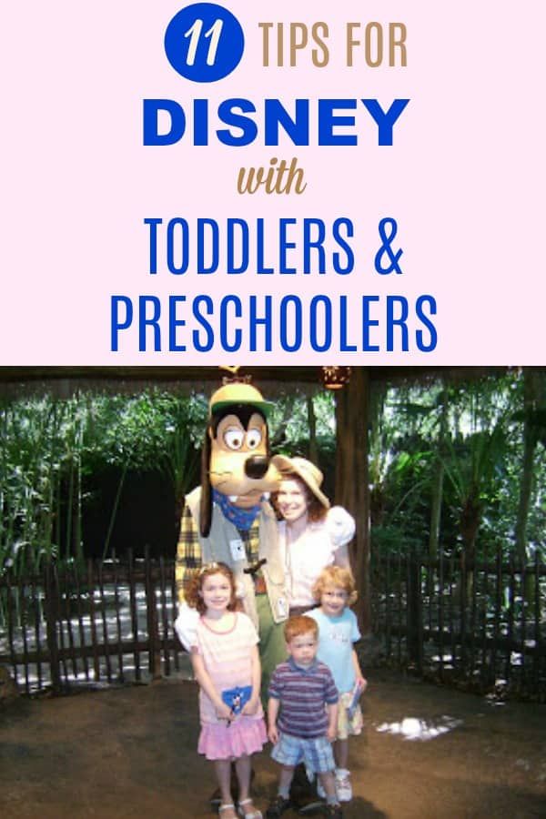 11 Travel Tips for Mom to make families' trip to the Magic Kingdom and other Disney parks and resorts fun with preschool kids and toddlers