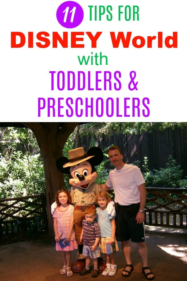 Walt Disney World vacation planning tips for families with little ones