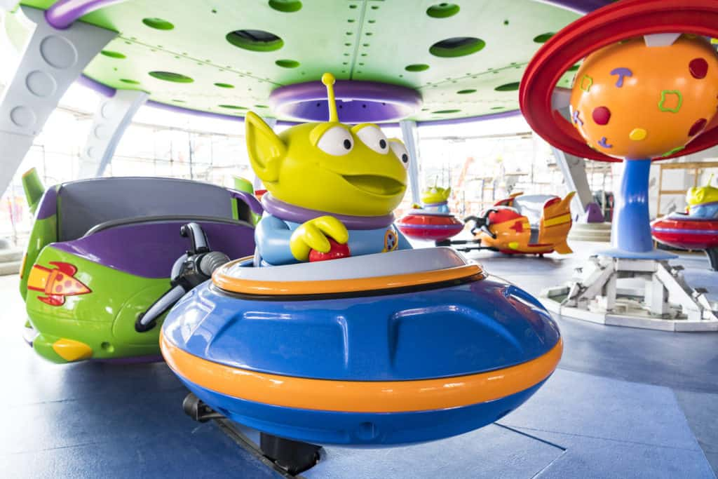 Alien Swirling Saucers Vehicles Coming to the New Toy Story Land at Disney's Hollywood Studios