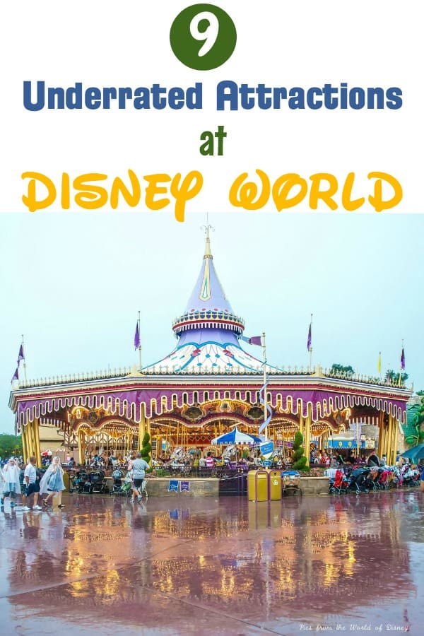 Underrated attractions at Disney World