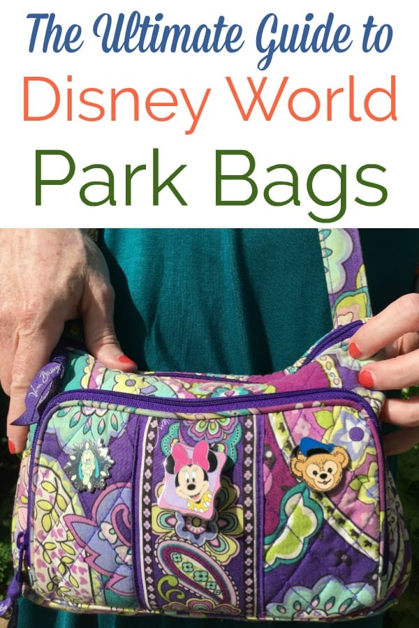 What's the best backpack for moms at Disney? Should I bring a purse to Disney World? What bag to take to a theme park? Find out in this article about what to put in a theme park bag. Includes things to buy from Amazon for Disney Trip