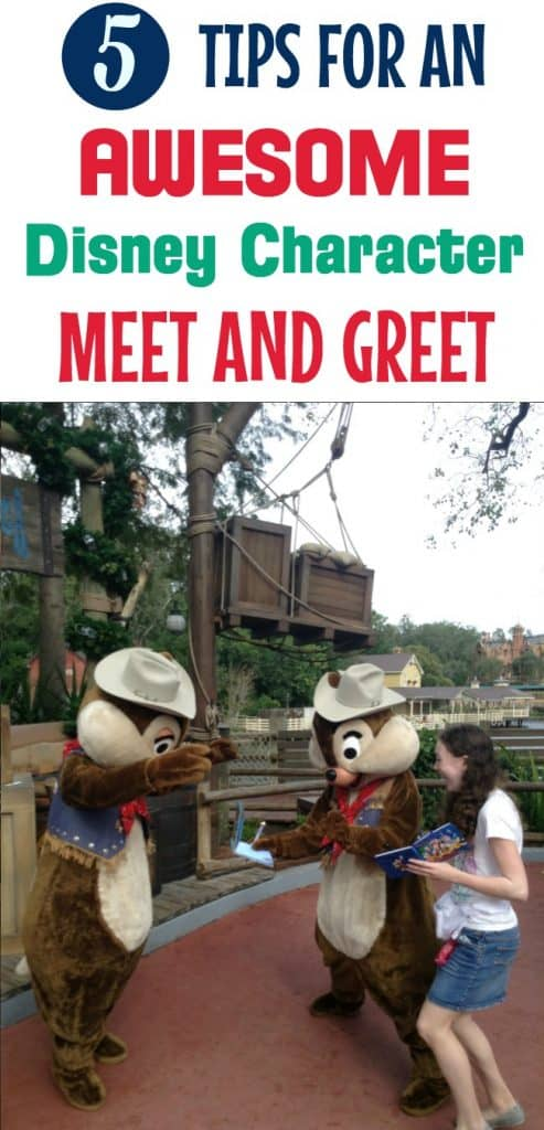 Disney Character Meet and Greet Tips