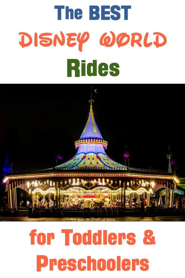 Best Disney World Rides for Toddlers and Preschoolers