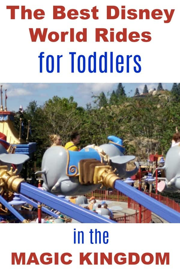 Best Disney World Rides for Toddlers in the Magic Kingdom