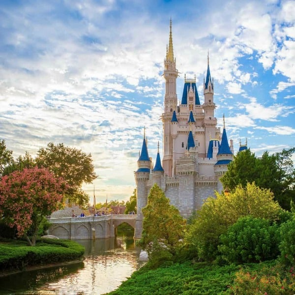 Cinderella Castle at Disneys Magic Kingdom