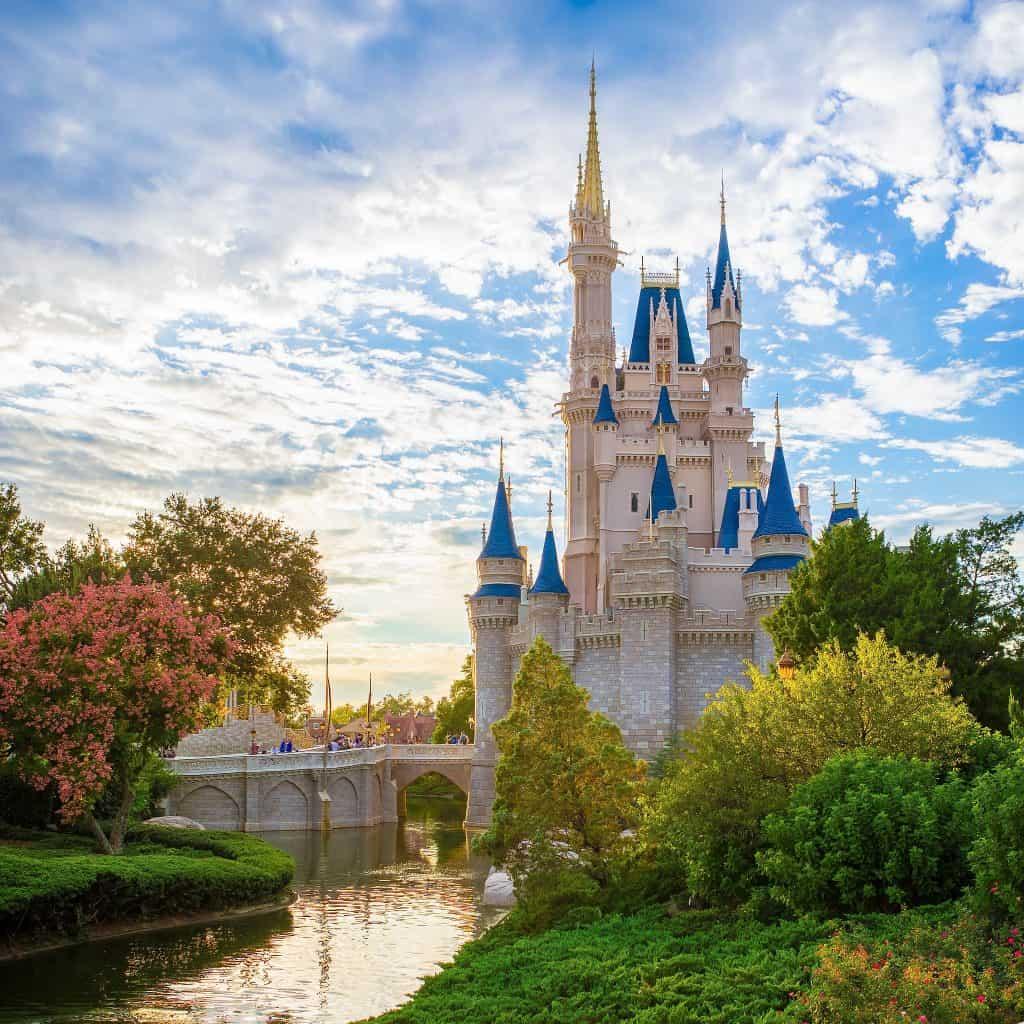 Cinderella Castle in the Magic Kingdom at Walt Disney World
