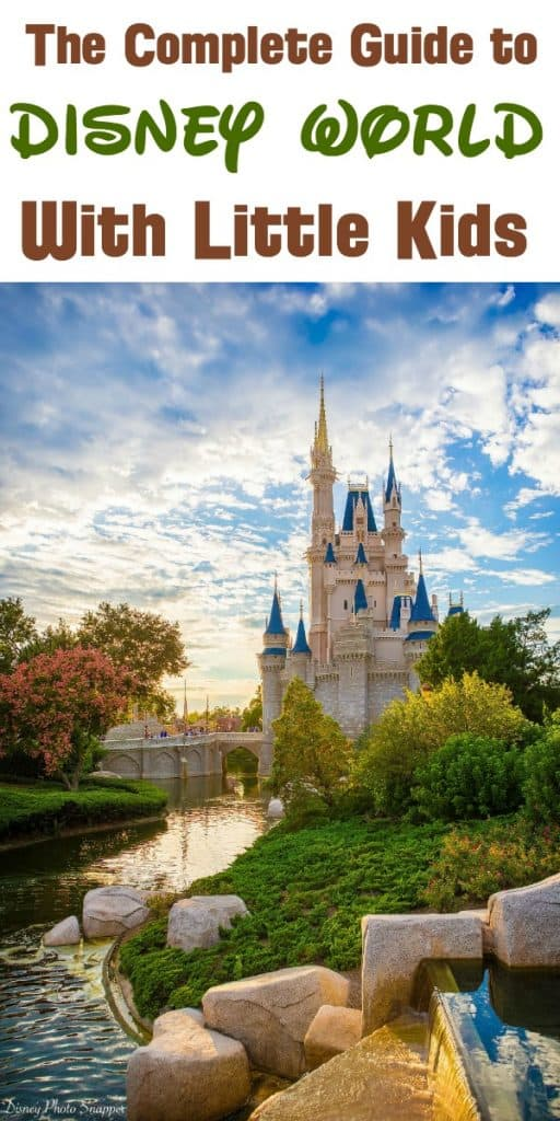 Disney vacation with little kids. Includes Disney hacks with a toddler, Animal Kingdom rides for 4 year olds, the top kids rides at Magic Kingdom, and what to bring to Disney World with toddlers
