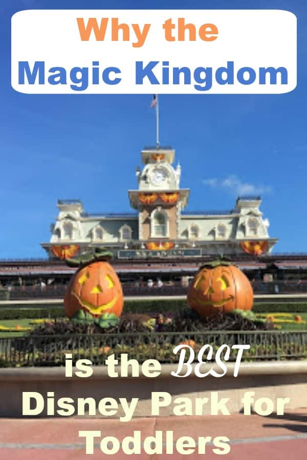 Why the Magic Kingdom is the best disney park for toddlers