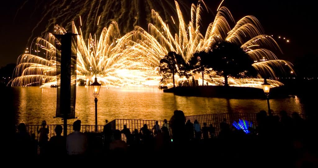 Illuminations Reflections of Earth  Night Show at Epcot