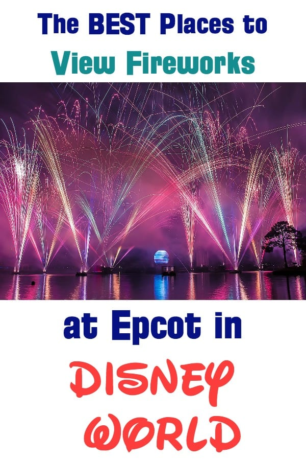 Best Places to View Fireworks at Epcot in Disney World