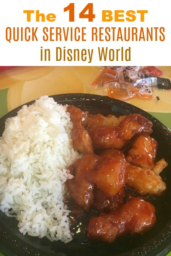 The Best Quick Service Meals at Disney World