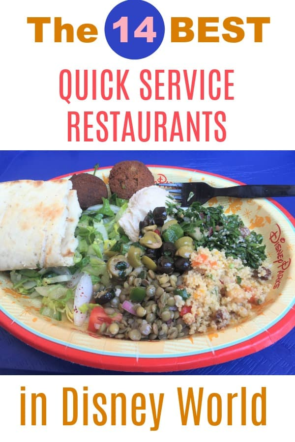 Best quick service restaurants in Disney World