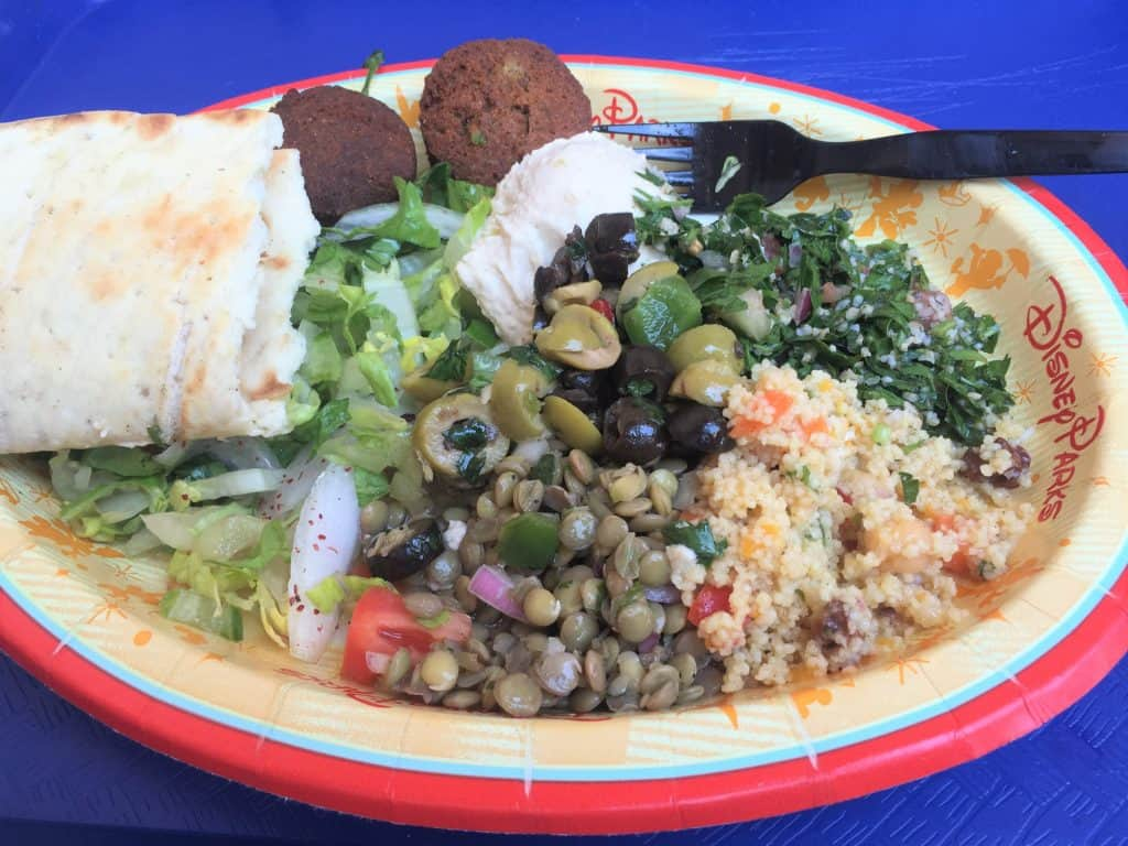 Vegetable Platter from Tangierine Cafe in Epco Morocco Pavilion