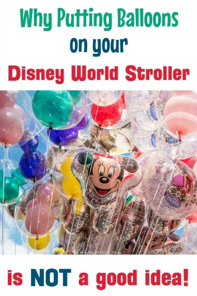 How to make your disney stroller stand out