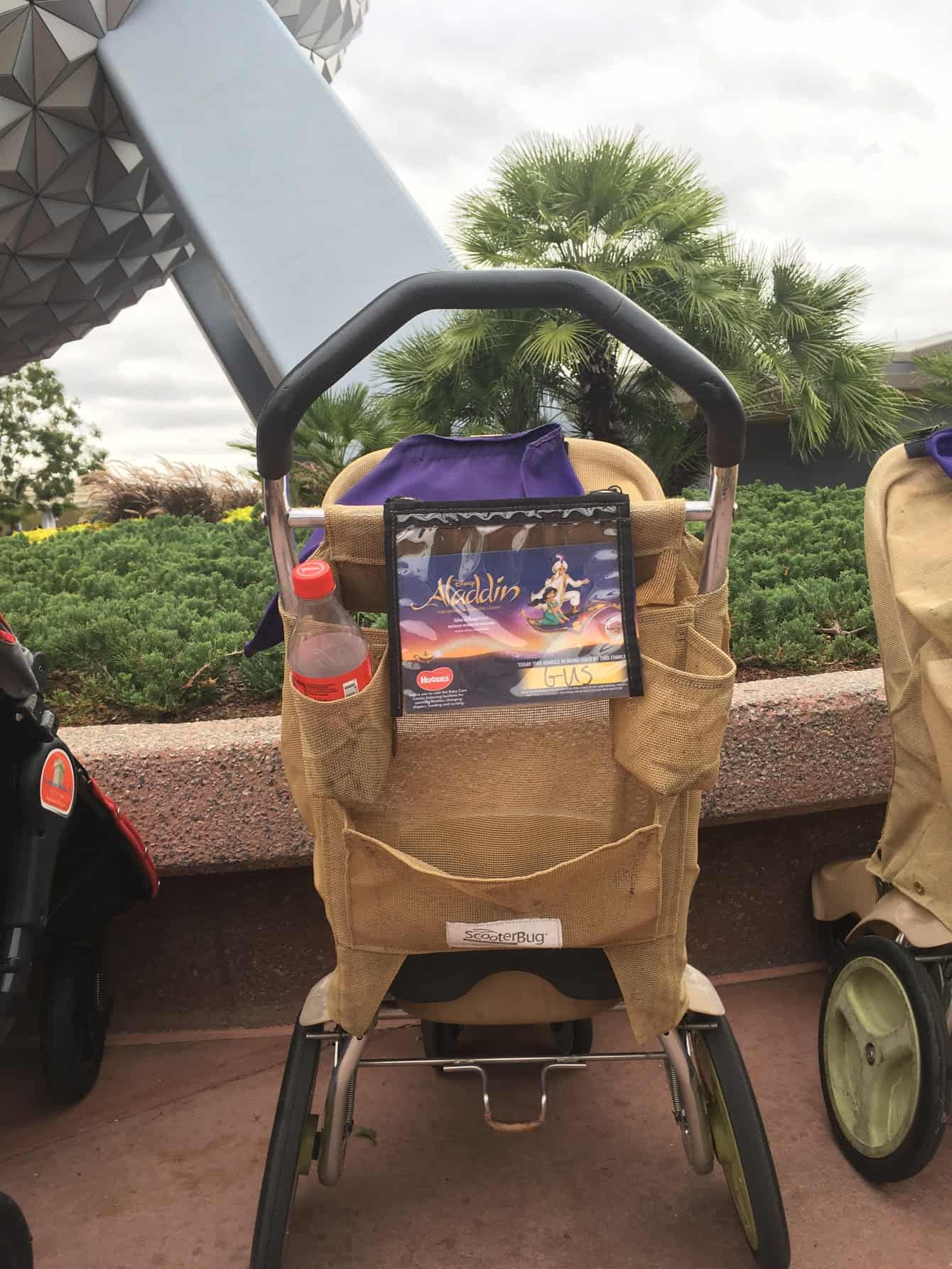 what do disney world rental strollers look like