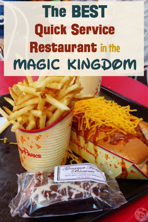 Where to get fries in Magic Kingdom? Discover the best quick service meals at Magic Kingdom, includes Casey's Corner corn dog nuggets and fries. Also features Cosmic Rays rotisserie chicken and the Be Our Guest quick service menu.