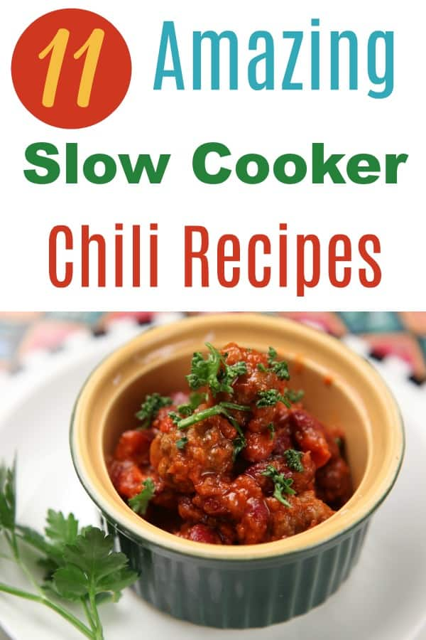 amazing slow cooker chili recipes