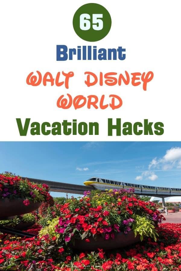 65 Brilliant Disney World Vacation Hacks