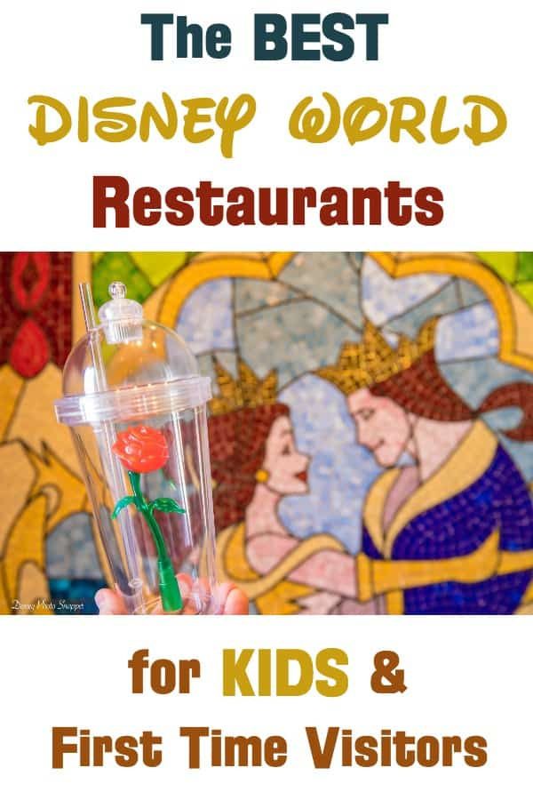 Best Walt Disney World Restaurants for kids and first time visitors