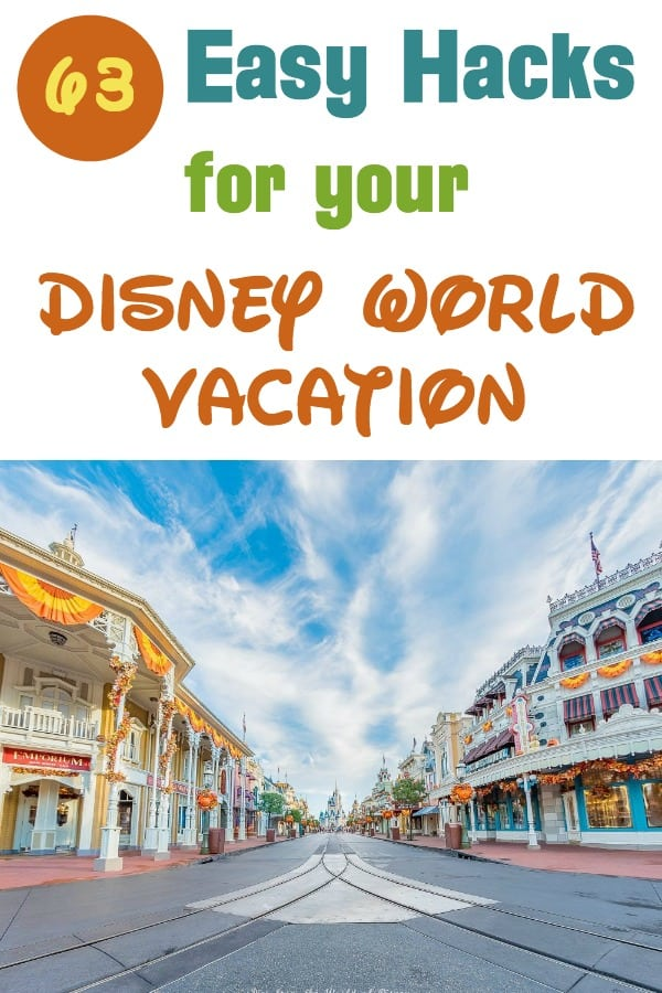 Easy Hacks for your Disney World vacation