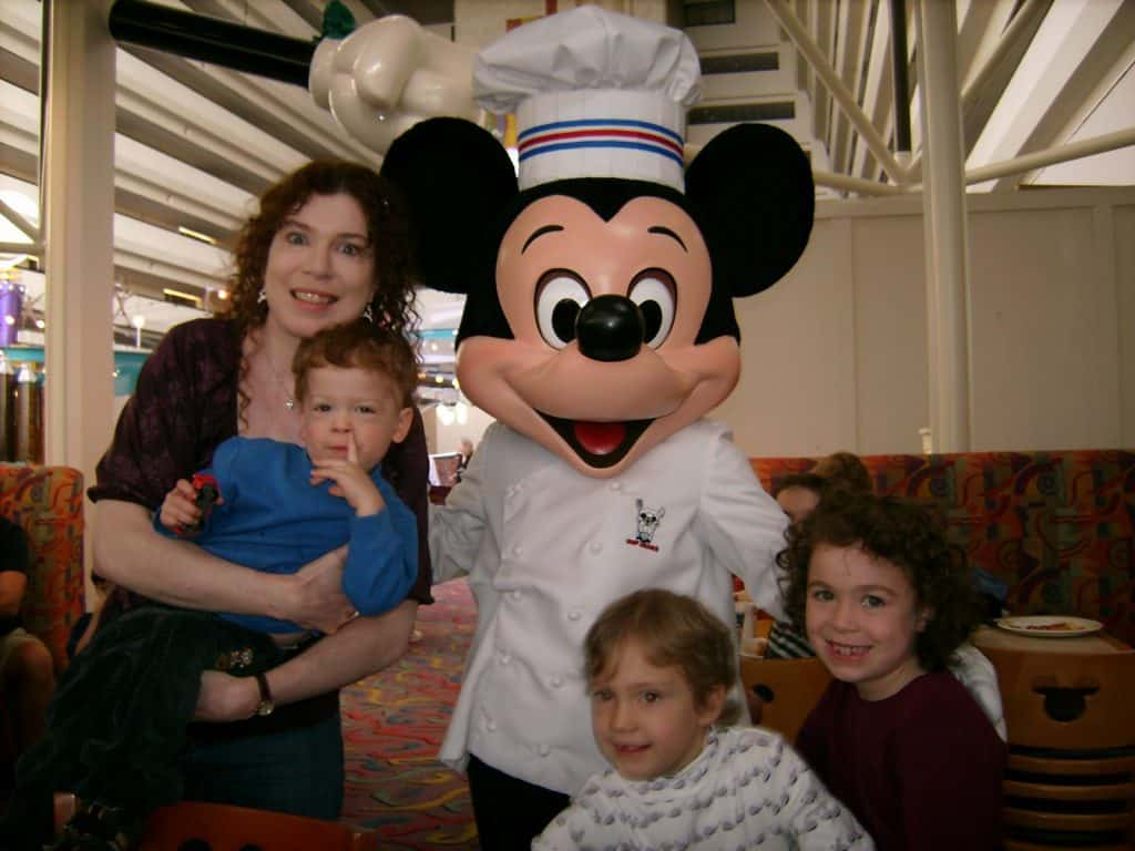 Chef Mickeys breakfast buffet at the Contemporary Resort in Walt Disney World
