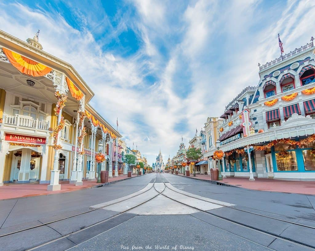 Main Street at the Magic Kingdom