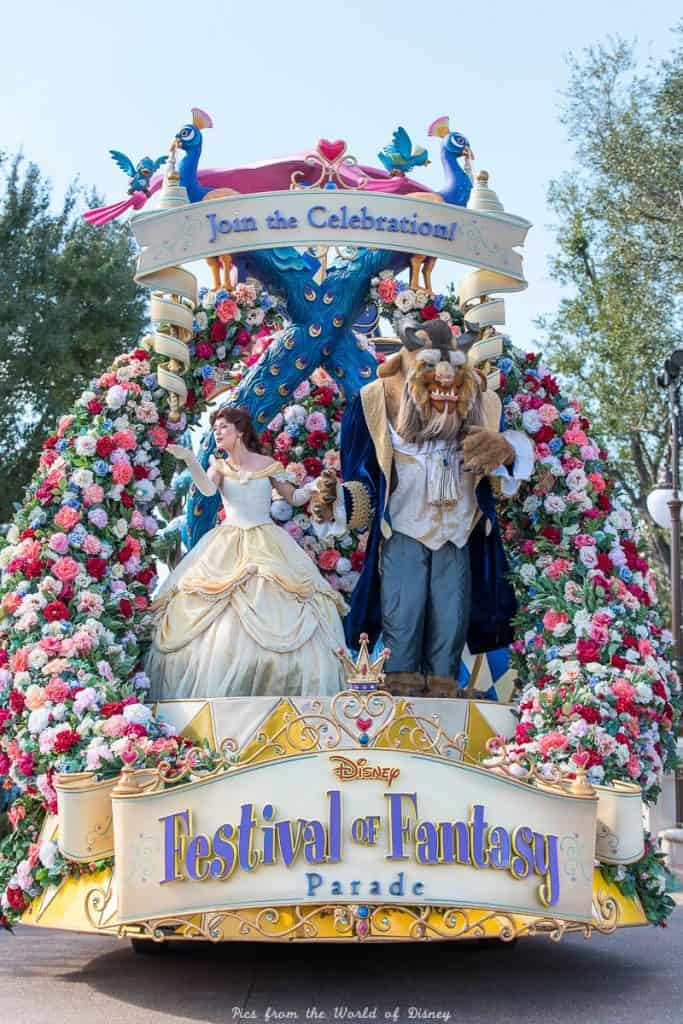 Disney World Parade Beauty and the Beast
