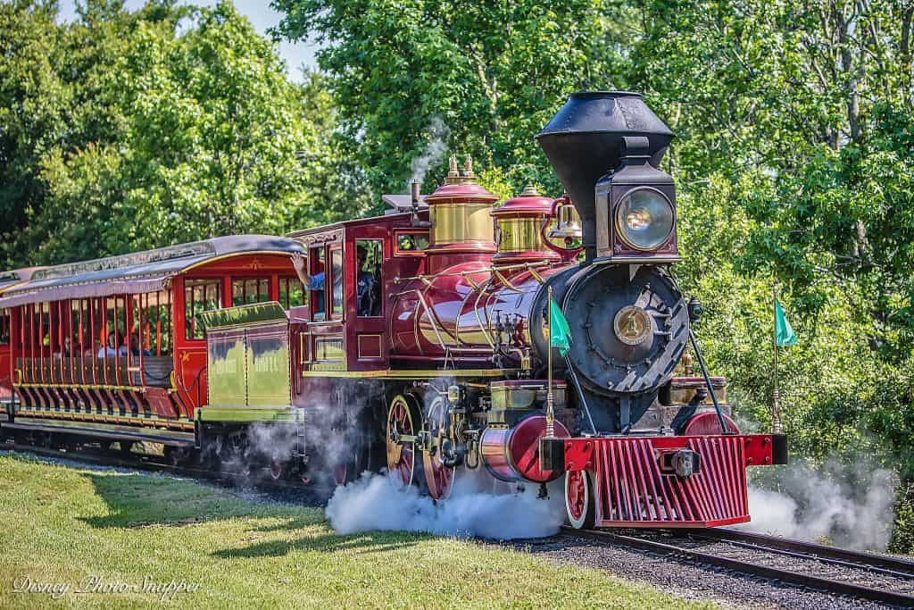 Walt Disney Railroad in the Magic Kingdom