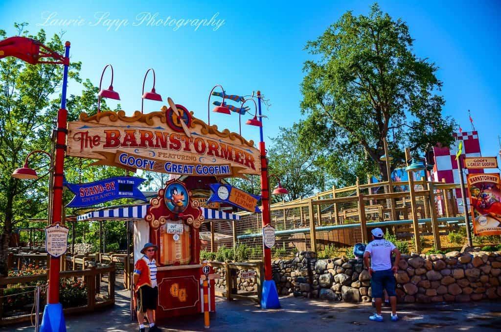 The Barnstormer Ride in Magic Kingdom